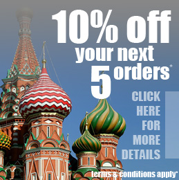 Get Money off your next orders from Russian Translation Services